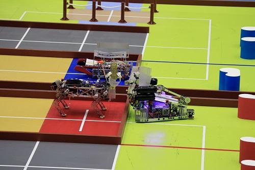 作成したロボット