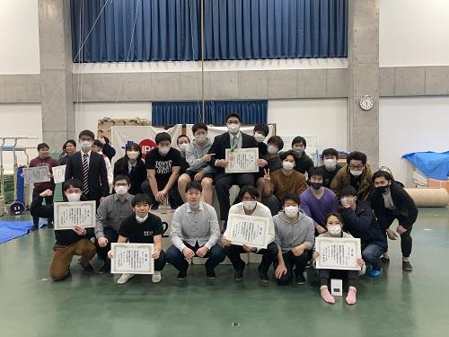第109回関東学生パワーリフティング選手権大会(於 東京大学駒場キャンパス新第二体育館)にて