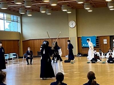 京都大学定期戦・一橋大学定期戦の様子