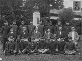 1912年(明治45年)の農科大学獣医学科卒業生
